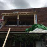 bekleding aan brengen dakkapel