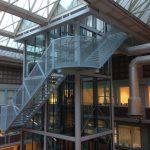 bovenkant lift vu amsterdam